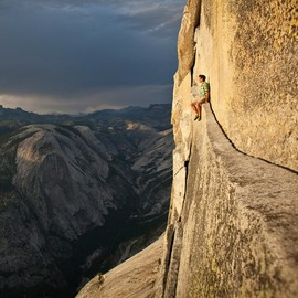 Yosemite Half Dome  - Free Climbing at Yosemite Half Dome