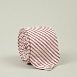 THOM BROWNE - Men's Stripe Seersucker Tie