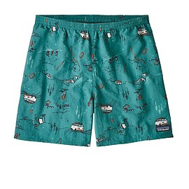 "patagonia - M's Baggies™ Shorts - 5"", Fun Hogs: Elwha Blue (FHEB)"