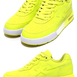 A BATHING APE - NEON ROAD STA