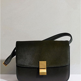 CLASP SHOULDER BAG BLACK