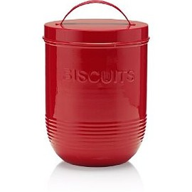 Marks&Spencer - Retro Enamel Biscuit Jar
