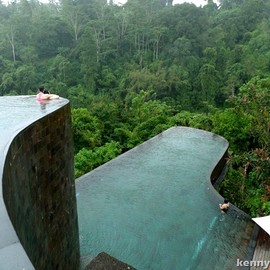 Ubud Hanging Gardens - pool