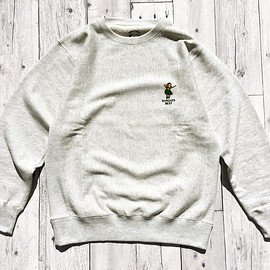 SUNDAYS BEST - HULA GIRL CREW NECK SWEAT