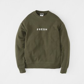 LOOPWHEELER X Fresh Service - Crew Neck Sweatshirt