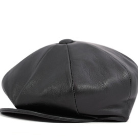 NEW YORK HAT - LAMSKIN NEWSBOY