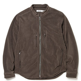 nonnative - HIKER SHIRT JACKET POLY FLEECE POLARTEC® WITH POLY TWILL Pliantex®