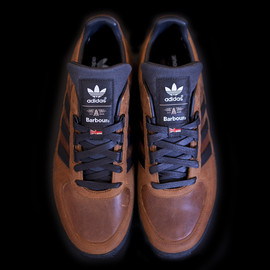 adidas originals, Barbour - ZX 555 - Brown/Black