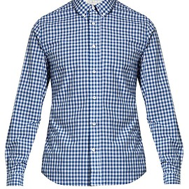 Acne Studious - Isherwood Gingham Cotton Shirt