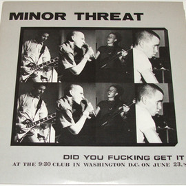 MINOR THRET - DID YOU FUCKING GET IT?