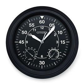 CITIZEN - Wall Clock - Black/White