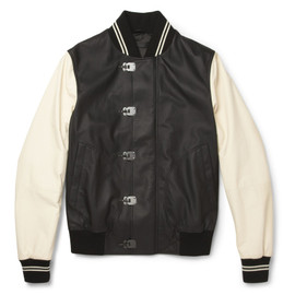 BOTTEGA VENETA - Leather Varsity Jacket