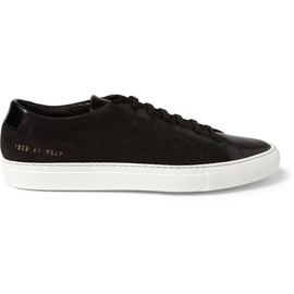 Common Projects - Common ProjectsAchilles Leather and Suede Low Top Sneakers