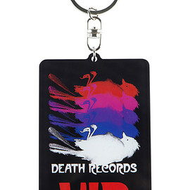 "MEDICOM TOY - MLE Phantom of the Paradise シリーズ ACRYLIC KEY CHAIN ""DEATH RECORD"""