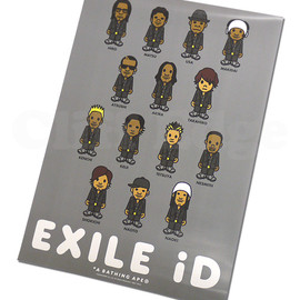 EXILE - A BATHING APE(エイプ)x EXILE iDポスター