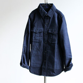 maillot - NAVY CPO SHIRTS Dark Navy