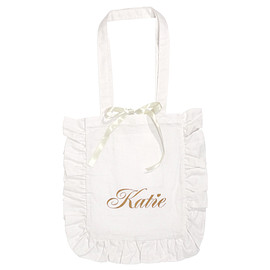 Katie - FRILL tote bag M