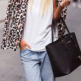 Leopard Jacket & Denim