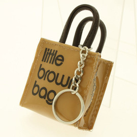 Bloomingdale's - little brown bag キーホルダー