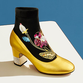 Gucci - Gucci Candy Sock Ankle Boots