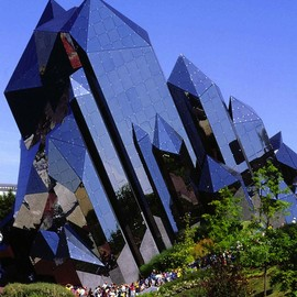 Poitiers, France - Futuroscope, Crystal