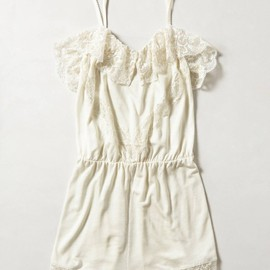 Anthropologie - Lace Teddy