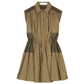 Thakoon Addition - GATHERED DRAWSTRING SHIRTDRESS