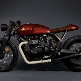Triumph x Barbour - Speed Twin
