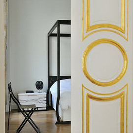 Christian Liaigre - C. Liaigre's Bedroom, Paris Apartment