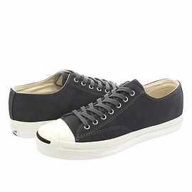 CONVERSE - JACK PURCELL RET SUEDE - CHARCOAL -