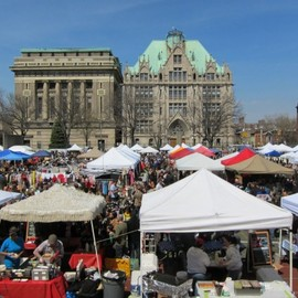Brooklyn, New York - BROOKLYN FLEA IN FORT GREENE