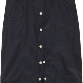 sacai - Shell and Silk-georgette Skirt