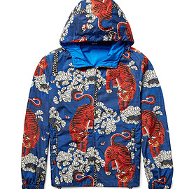GUCCI - FW2016 Printed Shell Hooded Jacket
