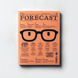 MONOCLE - THE FORECAST Issue 01 2015
