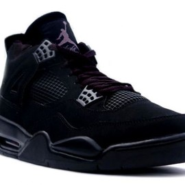 NIKE - AIR JORDAN 4 BLACK CAT
