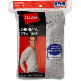 Hanes - Hanes - Men's Thermal Crew-Neck Tee