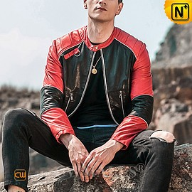 CWMALLS - Custom Leather Jacket | Denver Leather Motorcycle Jacket CW818302 | CWMALLS.COM