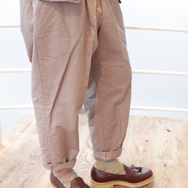 kolor - Slub Canvas 1 Tuck Pants