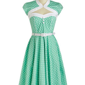 ModCloth - Soda Shop Sweetie Dress