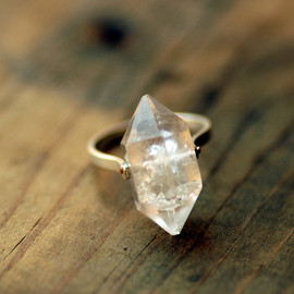 lumafina - Herkimer Diamond Ring