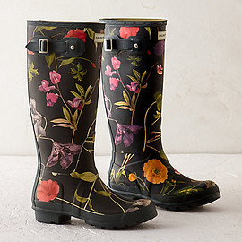 HUNTER - Hunter Floral Garden Boots, Tall