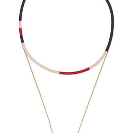 Isabel Marant - Set of two gold-plated necklaces
