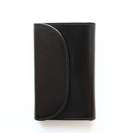 Whitehouse Cox - S7660 3FOLD WALLET/Black×Red Vintage Bridle