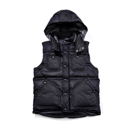 WHITE MOUNTAINEERING - GORE WINDSTOPPER SILICON COATING DOWN VEST