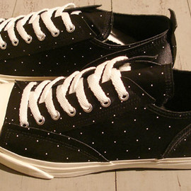 UNDERCOVER - Jack Purcell Lows/DOTS BLACK