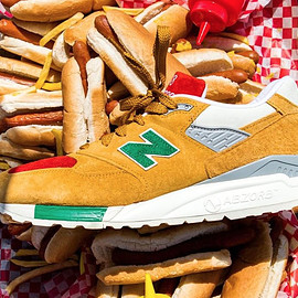 New Balance - J Crew x New Balance 998 Hot Dog