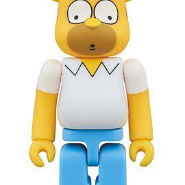 MEDICOM TOY - BE@RBRICK HOMER SIMPSON 100%