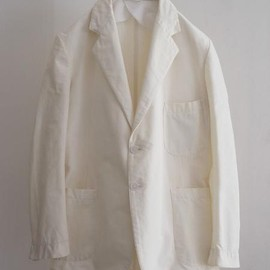 LILY1ST VINTAGE -  1930-40's british linen tailored jacket