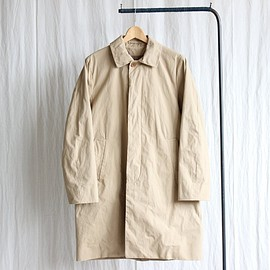 YAECA - Soutien Collar Coat Long #khaki