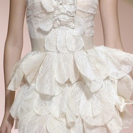 Blumarine - Blumarine white mini dress